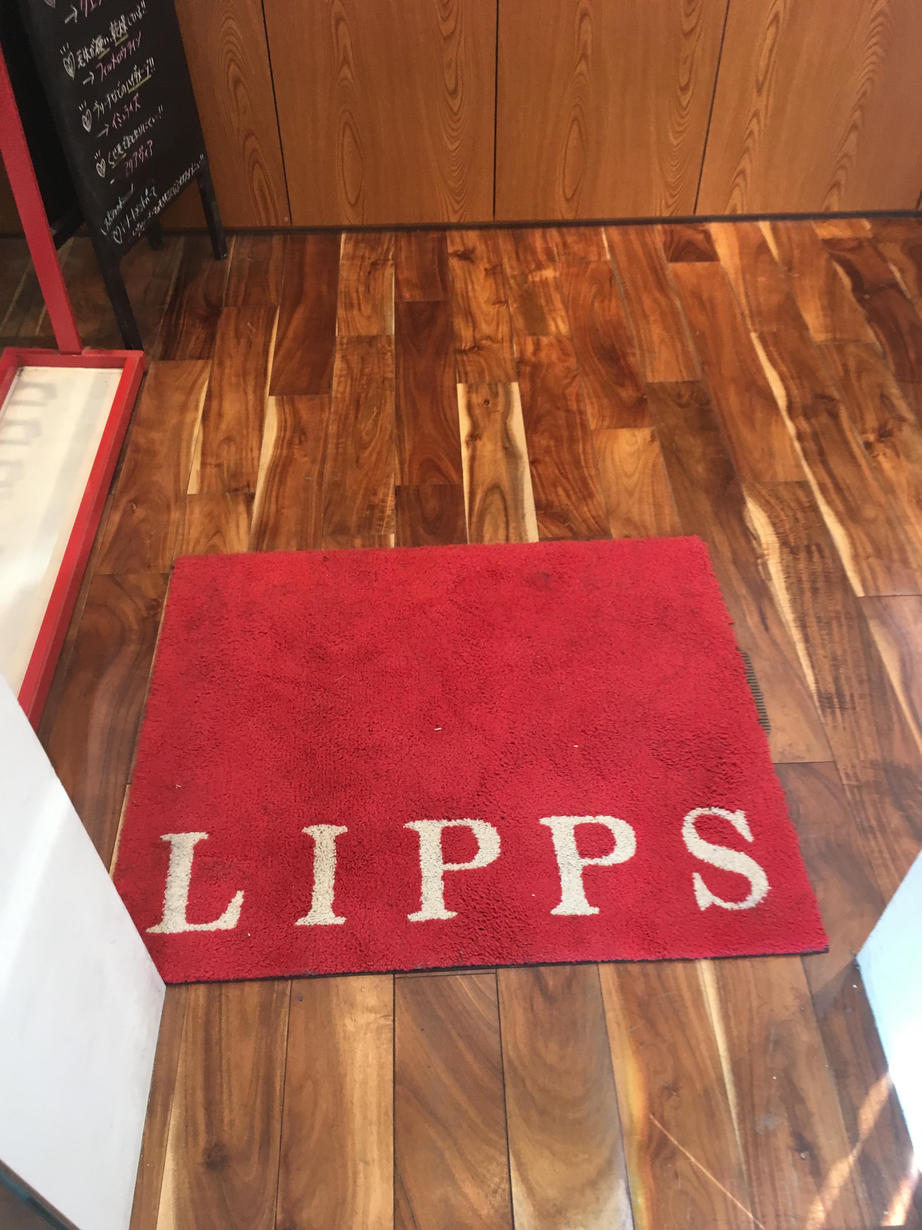 リップス原宿の入り口