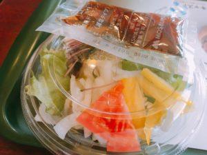 モスバーガーのサラダ
