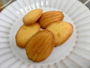 無印良品の糖質10g以下のお菓子 ひとくちレモンマドレーヌ