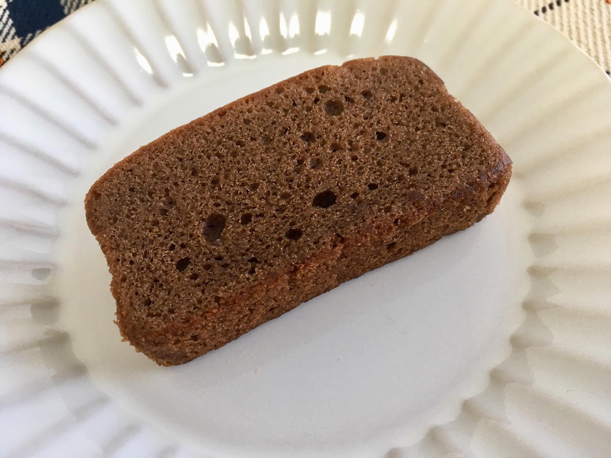 無印良品の糖質10g以下のお菓子 ショコラパウンドケーキ
