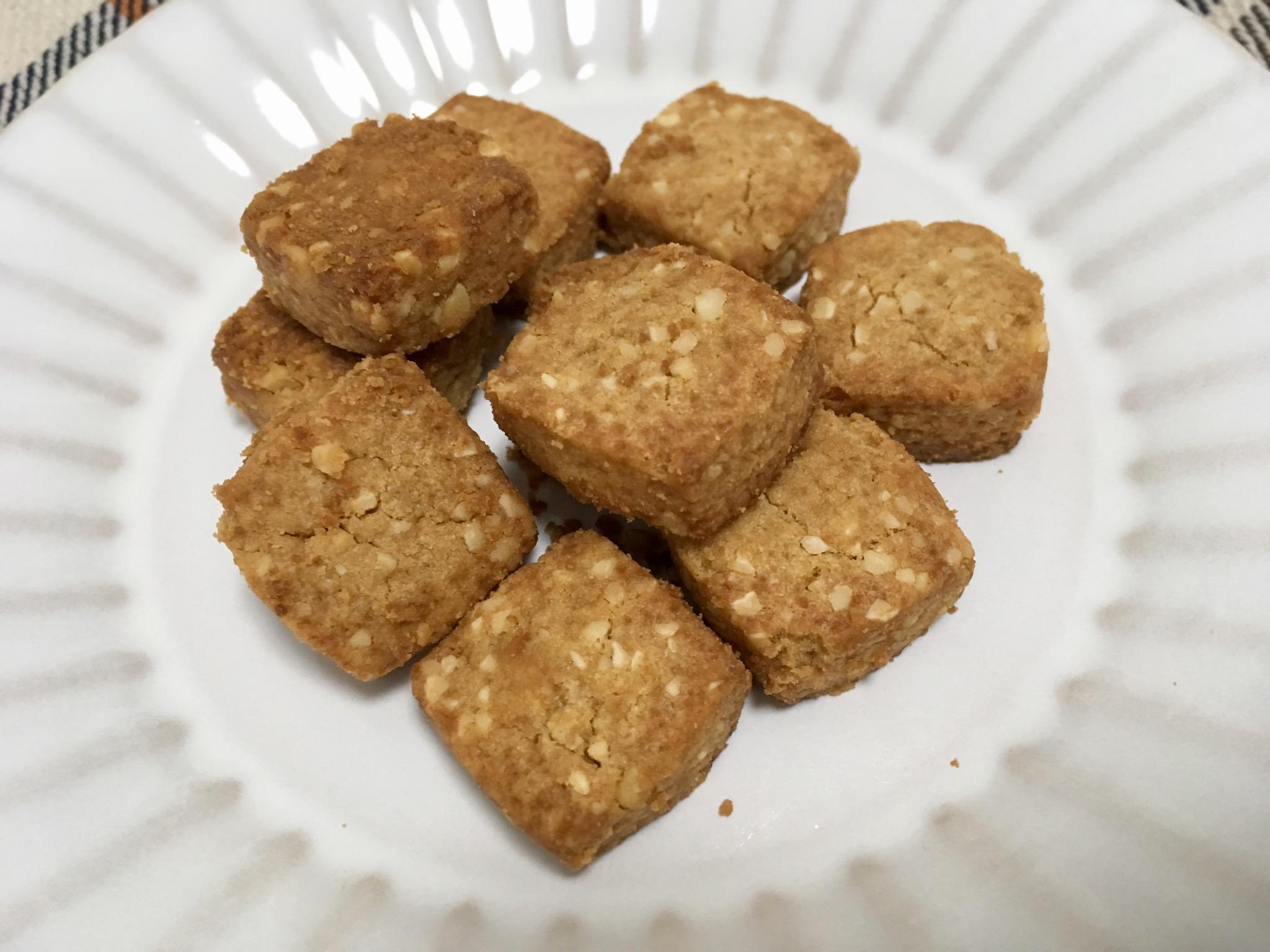 無印良品の糖質10g以下のお菓子 キャラメルサブレ