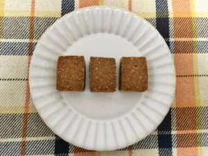 無印良品の糖質10g以下のお菓子 ごまサブレ
