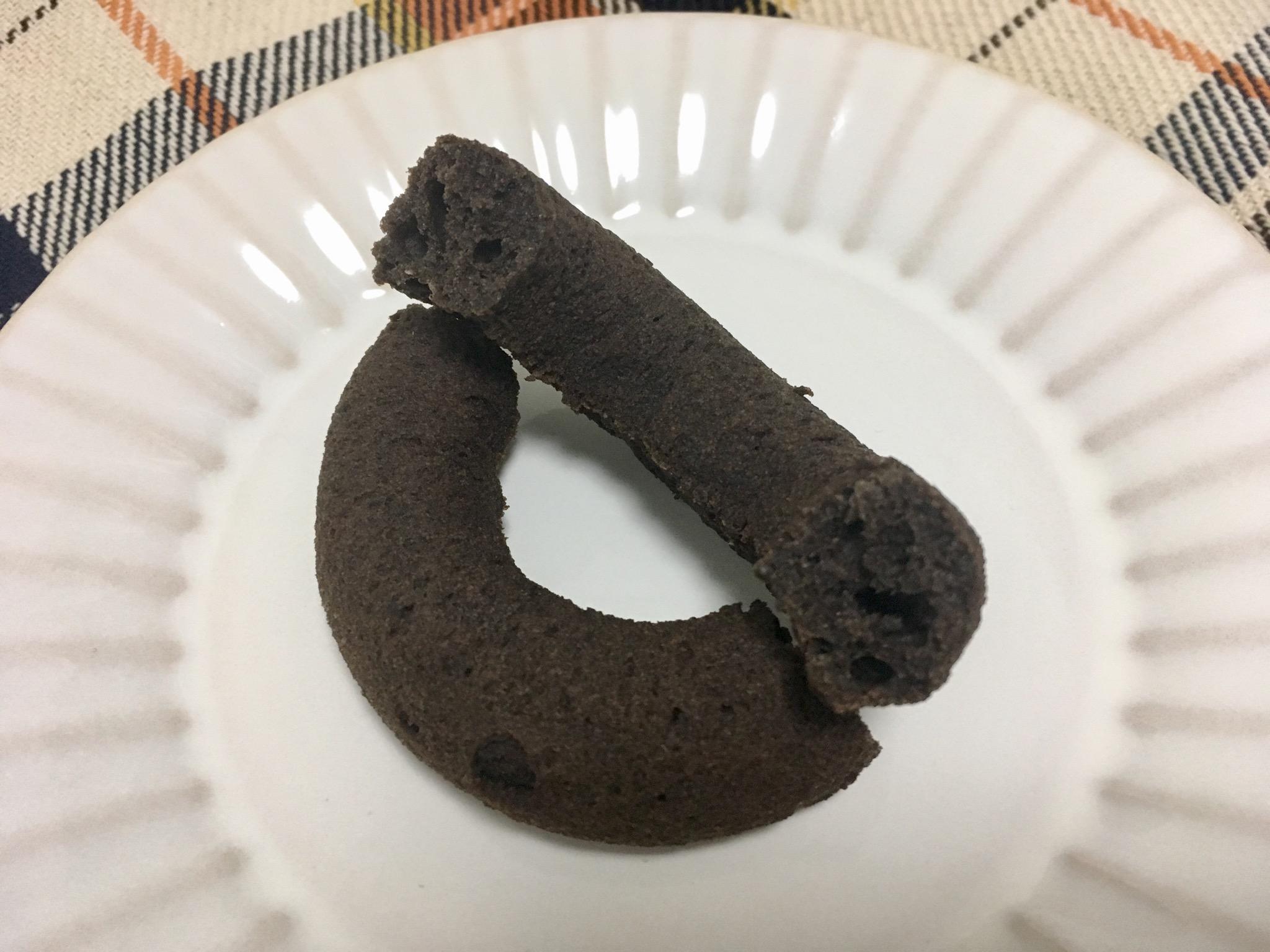 無印良品の糖質10g以下のお菓子 チョコドーナツ