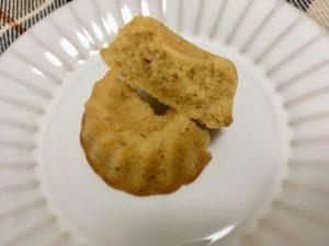 無印良品の糖質10g以下のお菓子 クグロフの断面