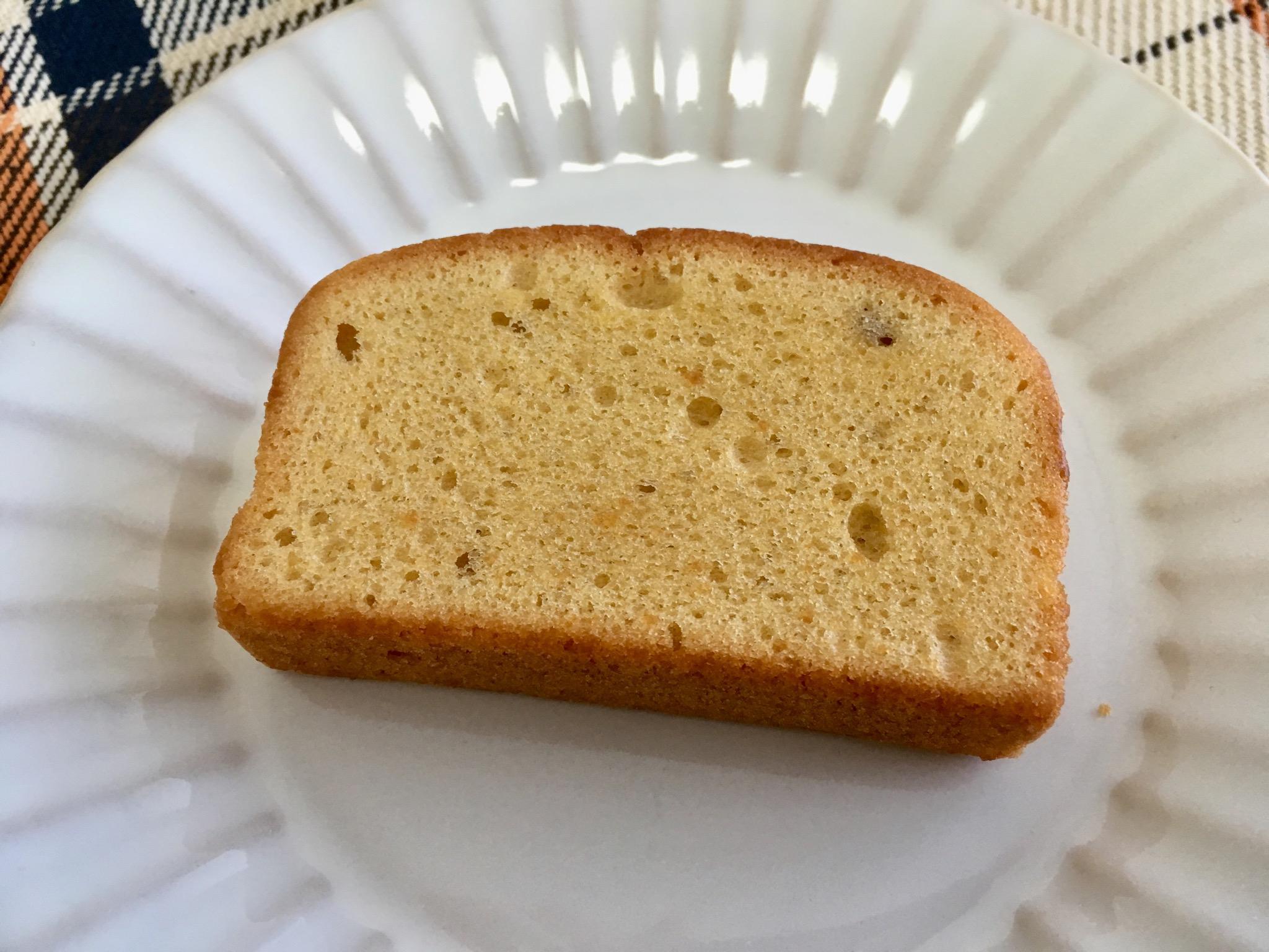 無印良品の糖質10g以下のお菓子 パウンドケーキ