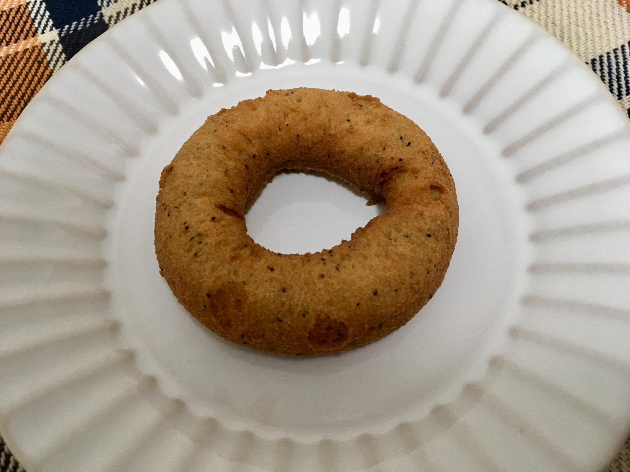 無印良品の糖質10g以下のお菓子 紅茶ドーナツ