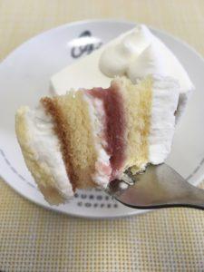 シャトレーゼの糖質86%カットのショートケーキ
