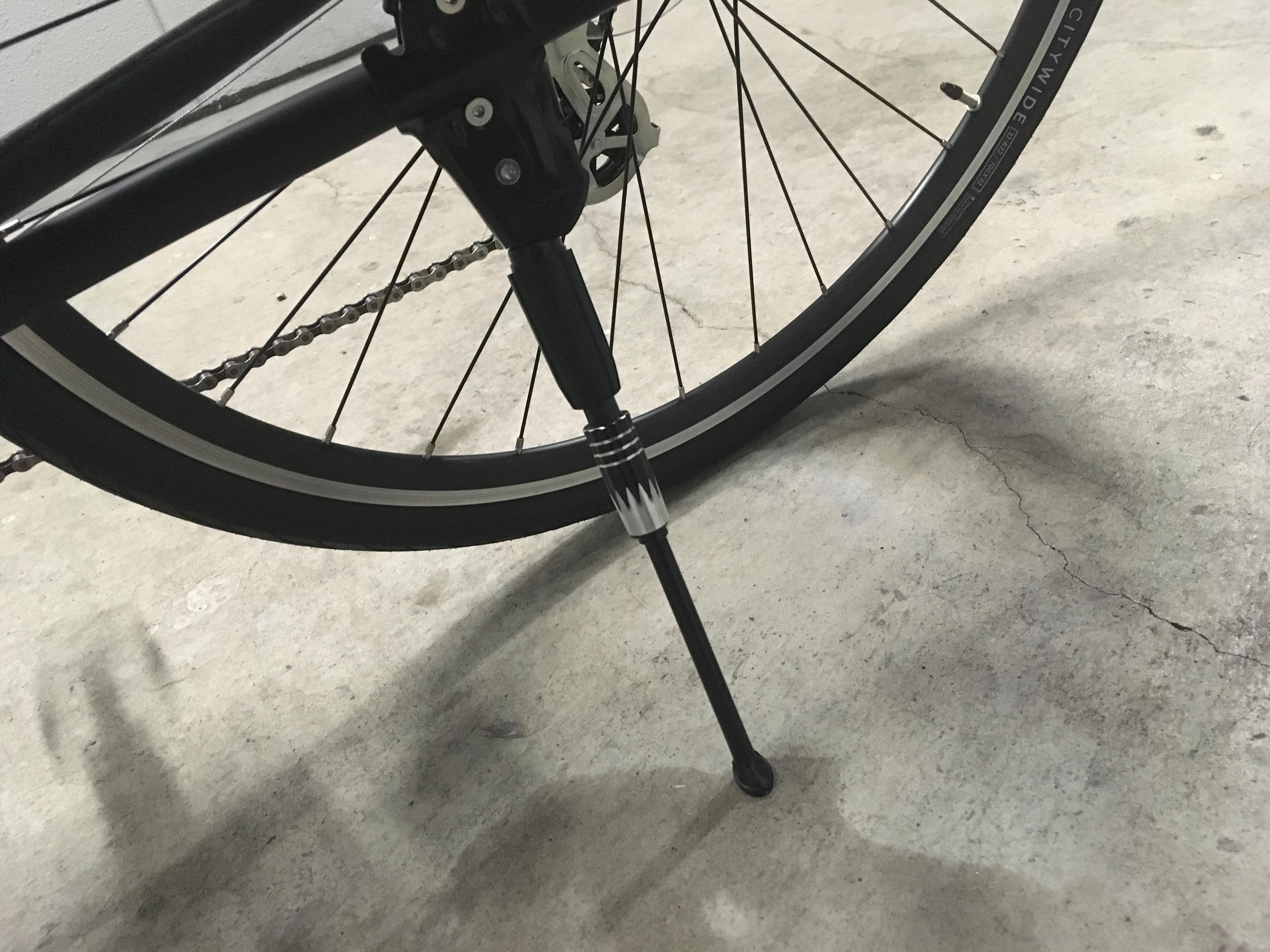 クロスバイクのスタンド