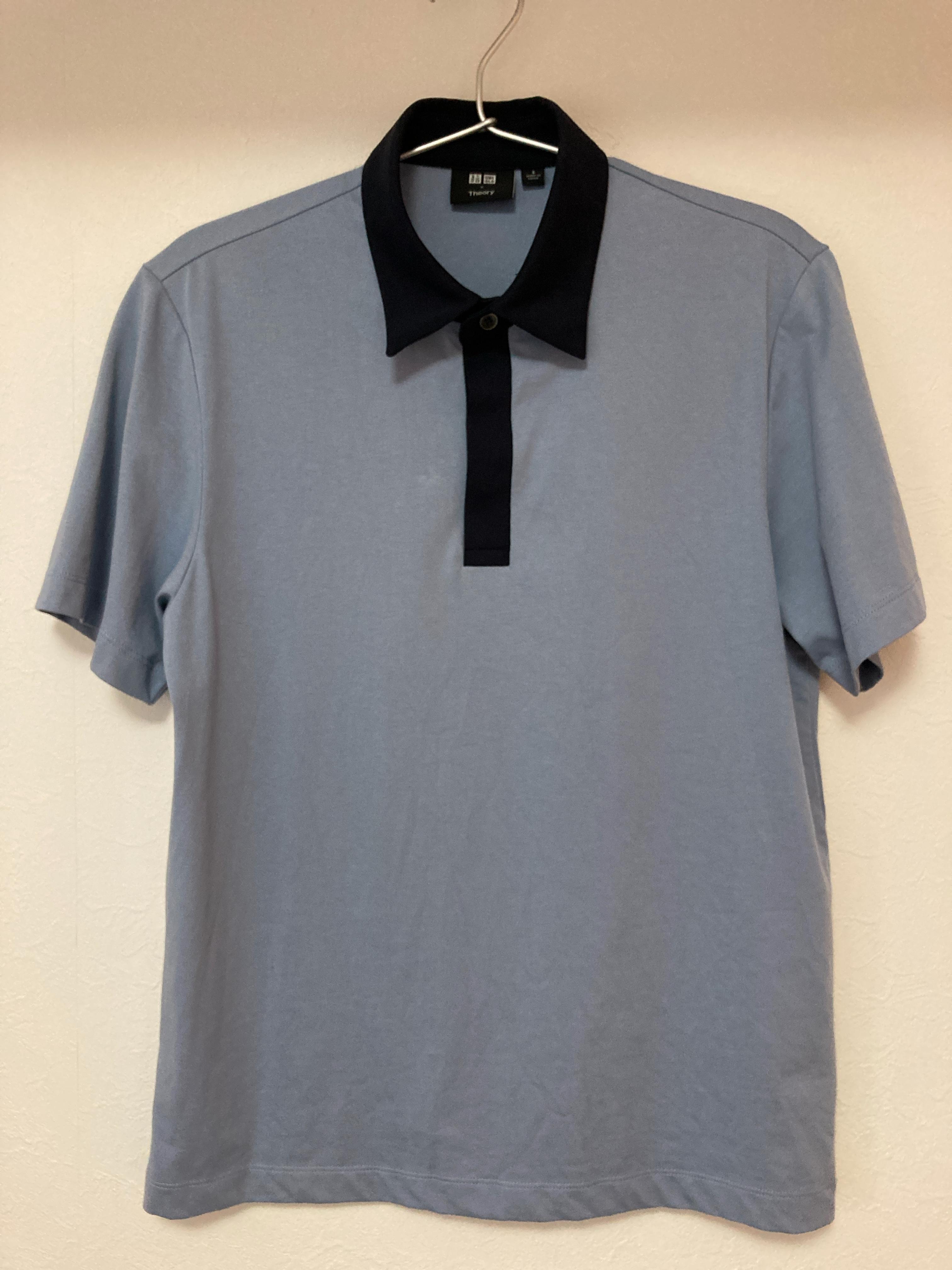 ユニクロ×セオリーのエアリズムジャージースリムフィットポロシャツ